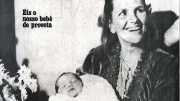 Ana Paula Caldeira - O primeiro bebê de proveta no Brasil
