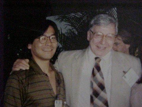 Robert Edwards e Dr. Raul Nakano No Congersso Mundial (1992)