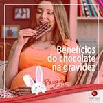 Benefícios do Chocolate na gravidez